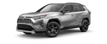2019 Rav4 Color Chart 2019 Toyota Rav4 Color Options