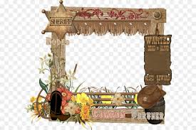 picture frames lasso american frontier clip art others