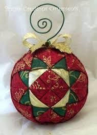 No Sew Quilted Christmas Ornament | Quilted christmas ornaments ... & Image result for FOAM QUILTED CHRISTMAS ORNAMENTS Adamdwight.com