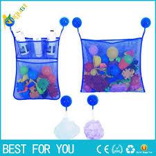 best 2 mesh bath toy organizer 6 ultra strong hooks baby bath bathtub toy mesh net storage bag organizer holder bathroom organiser under 5 23 dhgate