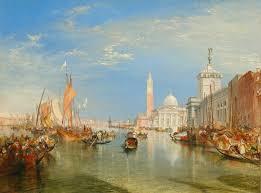 joseph mallord william turner venice the dogana and san giorgio maggiore 1834