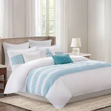 com echo bedding crete duvet cover mini set king teal home kitchen