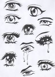 how to draw anime eyes step by step for beginners. Exellent Eyes Easy Anime Eyes To Draw Girl Hair  Drawling Visuals  In How Step By For Beginners O