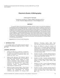 Pdf Electronic Books A Bibliography