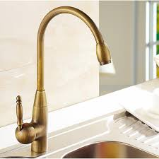 2018 single cold tall antique brass kitchen sink faucet vanity faucet swivel mixer tap faucet from eimin 42 22 dhgate com