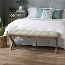 bedroom wood benches. Kynzie X-Frame Wooden Bench Bedroom Wood Benches R
