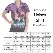 Turquoise Hibiscus Ladies Hawaiian Shirt Unisex