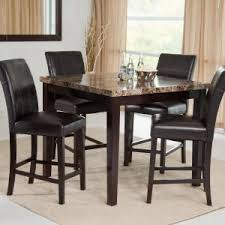 palazzo 5piece counter height dining set counter height kitchen table e20