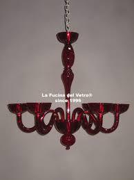 murano glass chandelier modern envy colored