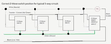 ge 45613 ge wave 3. Unique Ge Z Wave 3 Way Switch Wiring Diagram GE 12724 12723 Zwave 45613 W