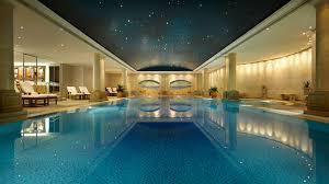 Impressive Hotel Indoor Pool In Design Decorating