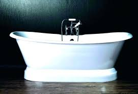 how to refinish a cast iron tub how to remove a cast iron tub cost to how to refinish