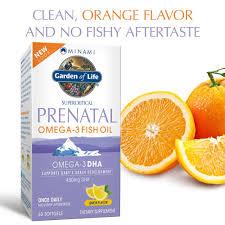 com garden of life prenatal dha omega 3 fish oil minami natural prenatal 60 softgels health personal care