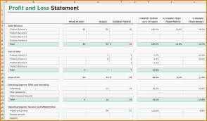 PL Sheet Pl Sheet Template Aiyin Template Source 23