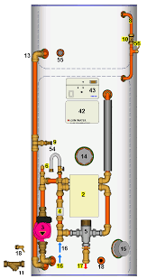 time delay switch wiring diagram images open relay diagram 12v switch for 2no immersion heaters diynot forums on wiring 3kw