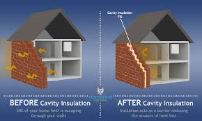 cavity wall insulation infographic
