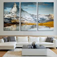 online shop large canvas prints wall art 3 pieces scenery throughout mountains canvas wall art  on 3 piece wall art mountains with wall art ideas mountains canvas wall art explore 15 of 15 photos