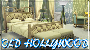 Old Hollywood Bedroom Furniture The Sims 4 Build Old Hollywood Bedroom Youtube