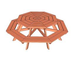 wooden picnic table plan wooden round picnic tables plan round wood picnic table plans