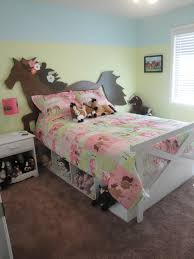 Equestrian Kidu0027s Bedrooms. Horse Bed Horse Headboard, Fence Footboard, And  Under Bed