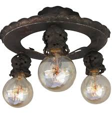 antique 1920 ceiling light fixtures