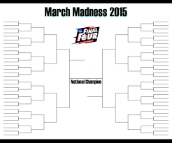 Sweet Sixteen Bracket Template Ncaa Basketball March But No Madness And No Women The