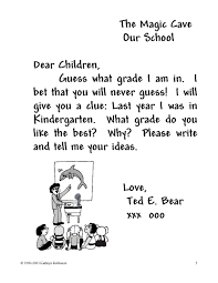 2nd grade writing a friendly letter sle
