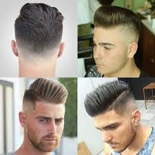Pompadour Fade Haircuts Hair And Beauty Mannenkapsels