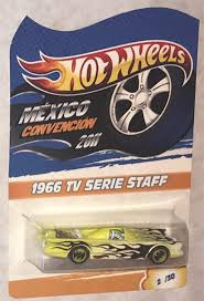 Buy Hot Wheels Batmobile 1966 TV Series 2011 Mexico Convention Rare 30 Made  Worldwide Online in Turkey. B07HXF6R4L