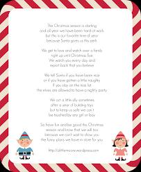 elf letter revised a little moore