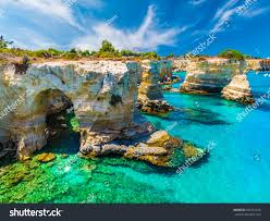 Torre Sant Andrea Salento Coast Puglia Stock Photo (Edit Now) 685214536