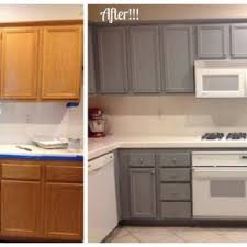 Before After Kitchen Cabinets Painting with Canadian Maple ...