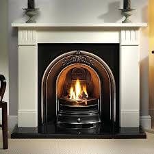 fireplace fire starter gas fires for fireplaces arch iron and gallery limestone with cast