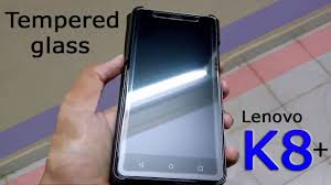 Affix <b>tempered glass for Lenovo</b> K8 plus-(unboxing,Installation ...