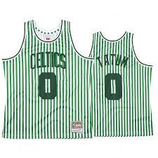 Outerstuff jayson tatum boston celtics #0 youth statement swingman black jersey. Jayson Tatum 0 Green Jersey Boston Celtics Stars And Stripes Independence Day Jersey