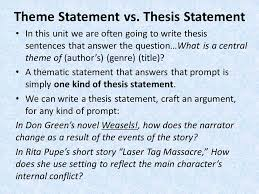 our mission learning how to write a short literary analysis 4 theme