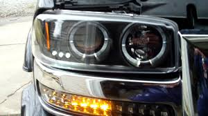 Dash Z Racing LED Bumper Lights 04 Sierra - YouTube