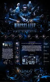 mal profile layouts mal profile theme kingsglaive final fantasy xv by swe3tkoko on