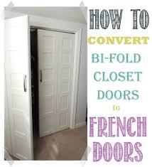 convert bifold doors to french doors easily