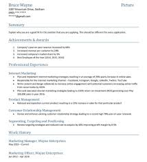 Resume Style Examples Templates Hybrid Format Samples Sample