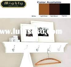 espresso wall shelf wall shelf hooks crown molding shelves with hooks wall shelf ledge with 5
