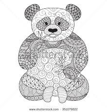Small Picture Coloring Pages Draw A Cartoon Panda How To Baby Pandas Animals