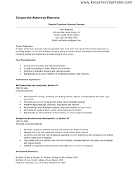 Corporate Attorney Resume Sample Lawyer Resume Sample Family Law