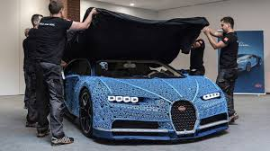 Here's our amazing 1:1 version of the iconic bugatti chiron. This Insane Life Size Lego Technic Bugatti Chiron Is Drivable