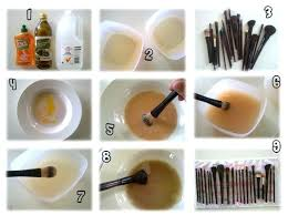 how to clean makeup brushes how the makeup brushes can be cleansed at home clean your