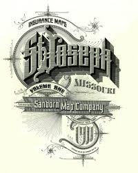 Graphic Design Missouri St Joseph Missouri September 1911 Lettering Design