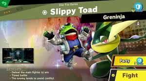 Star Fox Mechanic World Of Light 385 Slippy Toad Fair Spirit Battle Super Smash Bros Ultimate