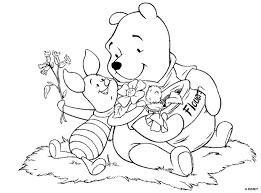 Winnie The Pooh Da Stampare E Colorare