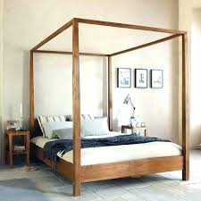 Diy Canopy Bed Frame Plans Pvc Twin Out Of Pipe Home Improvement ...