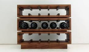 Incredible Contemporary Wine Rack Sosfund For Modern Wine Rack ...